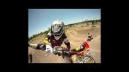 Fmx - Gopro Hd & Ego-mount with Jorel Bermudez - slow motion version