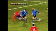 Alexis Sanchez dives - Chile vs. Estonia
