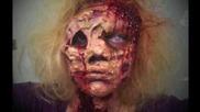 Halloween : Как се прави оригинал зомби