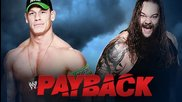 John Cena vs. Bray Wyatt - Wwe Payback 2014 - Wwe 2k14 Simulation