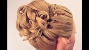 Вечерна прическа за дълга коса 2013 !! :)