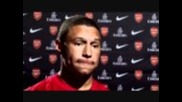 Alex Oxlade-chamberlain Interview After Signing With Arsenal