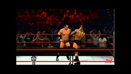 Wwe 12 Tlc 2011 Wade Barrett vs Randy Orton - Tables Match