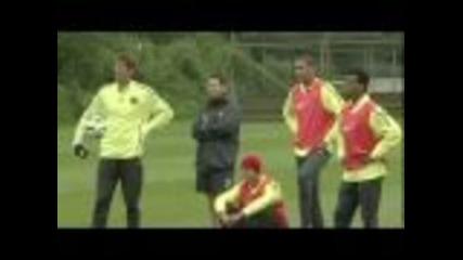 Facebook Challenge Goal: Manchester United - Rooney, Nani, Chicharito...