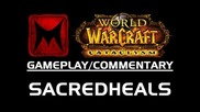 World of Warcraft Cataclysm: 3v3 Arenas: Kitty Cleave Ft. Sacredheals (wow Gameplay/commentary)
