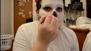 Basic Skull Makeup