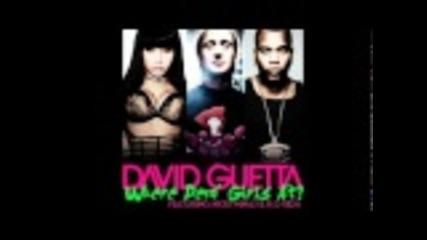 David Guetta ft Flo Rida & Nicki Minaj- Where Them Girls
