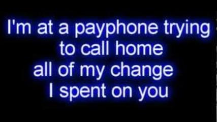 Maroon 5 - Payphone ft. Wiz Khalifa (текст)