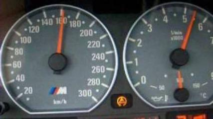 Bmw M3 E46 0-200 km/h