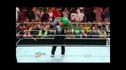 Brock Lesnar Returns & F5 John Cena !!! - Wwe Raw 4/2/12