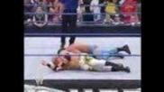 No Mercy 2005: Benoit vs Christian vs Booker T vs Orlando Jordan