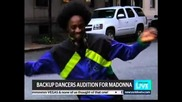 Dance for Madonna on New York Live, Nbc