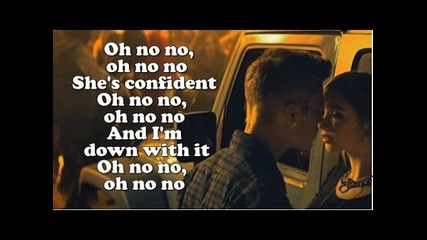 Justin Bieber - Confident ft. Chance The Rapper (lyrics On Screen) Cdq