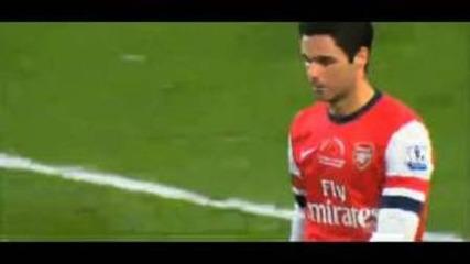 Вторият гол на Бербатов срещу Арсенал