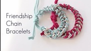 Diy Chain Friendship Wrap Stacked Bracelets