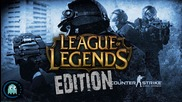 Penta Kill - Cs Global Offensive Special Edition From Lol
