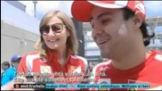 На Felipe Massa му липсва Kimi Raikkonen
