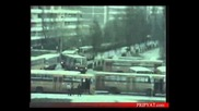 Разрушенный реактор и эвакуация Припяти