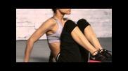 Sofia Boutella: Modified V-ups
