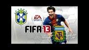 Fifa 13: Argentina - Brasil - Hd