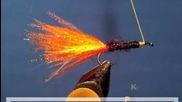 Оранжевият Плувец - стример за риболов - поетапна изработка