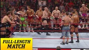 John Cena & Randy Orton battle the entire Raw roste
