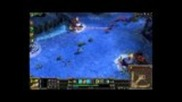 League of Legends Gameplay 16-3-11 with dual commentary. 1/4