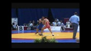 Roman Vlasov (russia) pin Besiki Saldadze (uzbekistan) in 74 kg Greco-roman finals at Junior Worlds