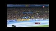 Болт и компания убиха конкуренцията - 4 x 100 m.