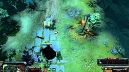Dota 2 - Shadow Fiend Gameplay [hd]