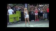 Sharapova and Federer lead famous Nike street tennis ad recreation News
