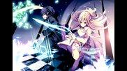 Sword Art Online Amv- Is Falling Inside The Black