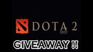 Dota 2 - Giveaway на 3 ключа !