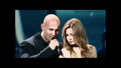 Толкова красива ! Юлия Савичева & Джиган - Отпусти ( Live ) ( Hd )