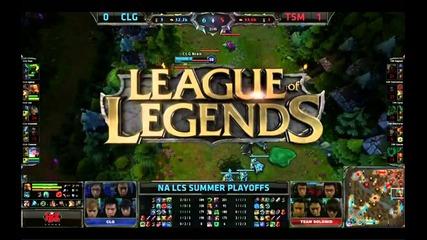Tsm vs Clg Game 2 Pax Regionals || Team Solomid vs Counter logic Gaming 2013 Regionals