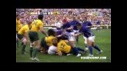 Big hits from Australia vs Samoa - July 2011