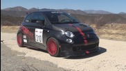 Fiat 500 Abarth - Tuned by Rrm - Angry Sounding Test Drive