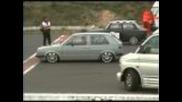Golf 16v Turbo vs Trabant 16v G60