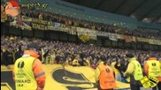 8000 Луди фенове на Арис в Манчестър !