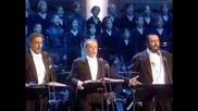Великите тенори!the Three Tenors Christmas Concert Viena