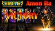 Noob играе Smite #2 - Победа с Амон Ра