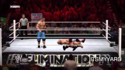 Wwe 12 - Its Like Real Life!!! - Epic Match!