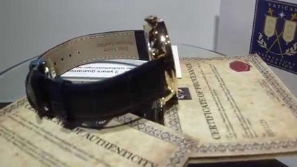 часовник Kronsegler Sacristan -сертификат на Ватикана Limited Edition 265 броя ограничено издание