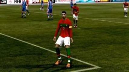 Fifa 12 - Cristiano Ronaldo Skills & Goals