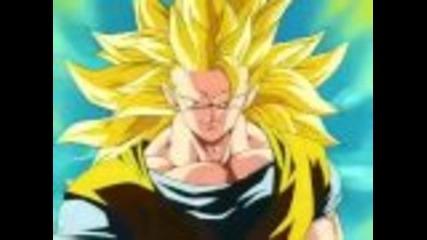 Goku Super Saiyajin 3 vs Majin Boo