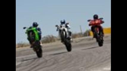 Daytona Sportbike Motorcycle Comparison
