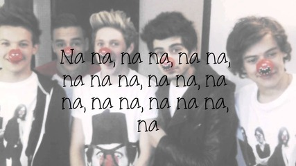 One Direction - One Way Or Another (teenage Kicks) - Lyrics and Pictures