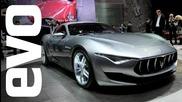 Maserati Alfieri concept at Geneva 2014 | evo Motor Shows