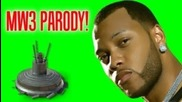 Flo Rida - ''whistle'' Mw3 Parody ''bouncing Betty'' (cod Music Video Parody By William D Hd)