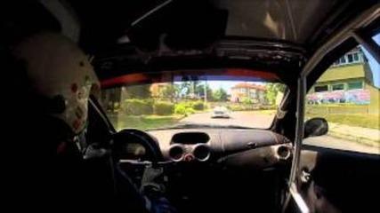 Боби Григоров Русе- писта 2012( камера в колата)
